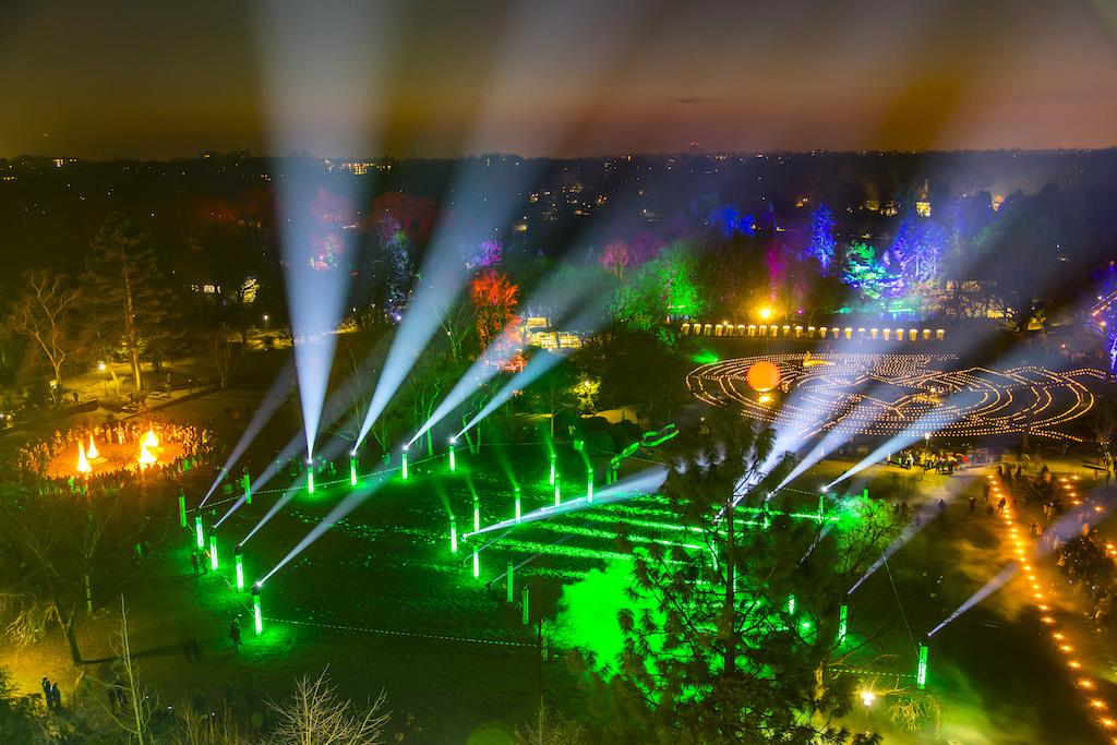 Grüne Hauptstadt Europas - Essen 2017 - Eröffnung im Gruga Park