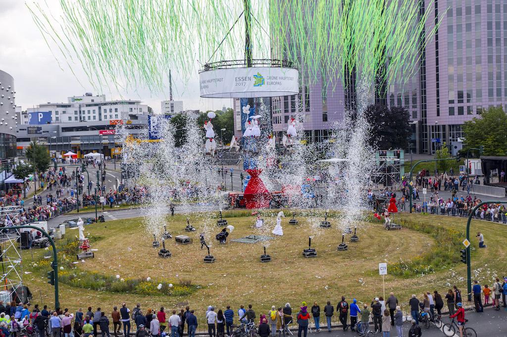 Referenzen - Grüne Hauptstadt Europas - Essen 2017 - Tag der Bewegung