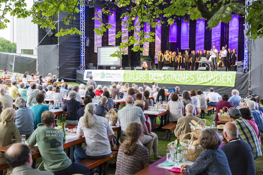 Grüne Hauptstadt Europas Essen 2017 Konzert