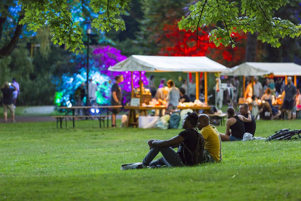 Grüne Hauptstadt Europas Essen 2017 Stadtgarten