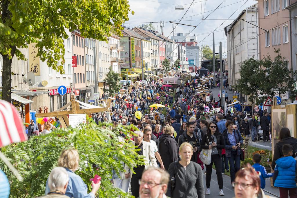Grüne Hauptstadt Europas Essen 2017 Großveranstaltung