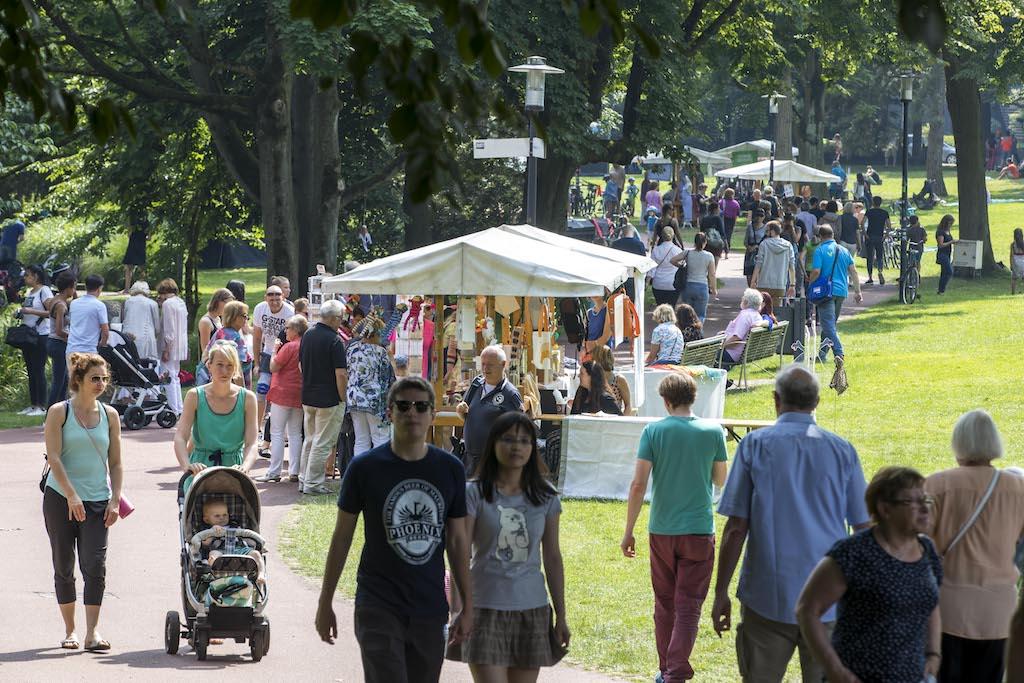 Grüne Hauptstadt Europas Essen 2017 Sommerfest