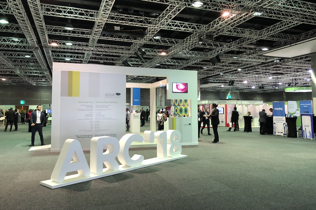 ARC 2018 Messe Exibition Qatar