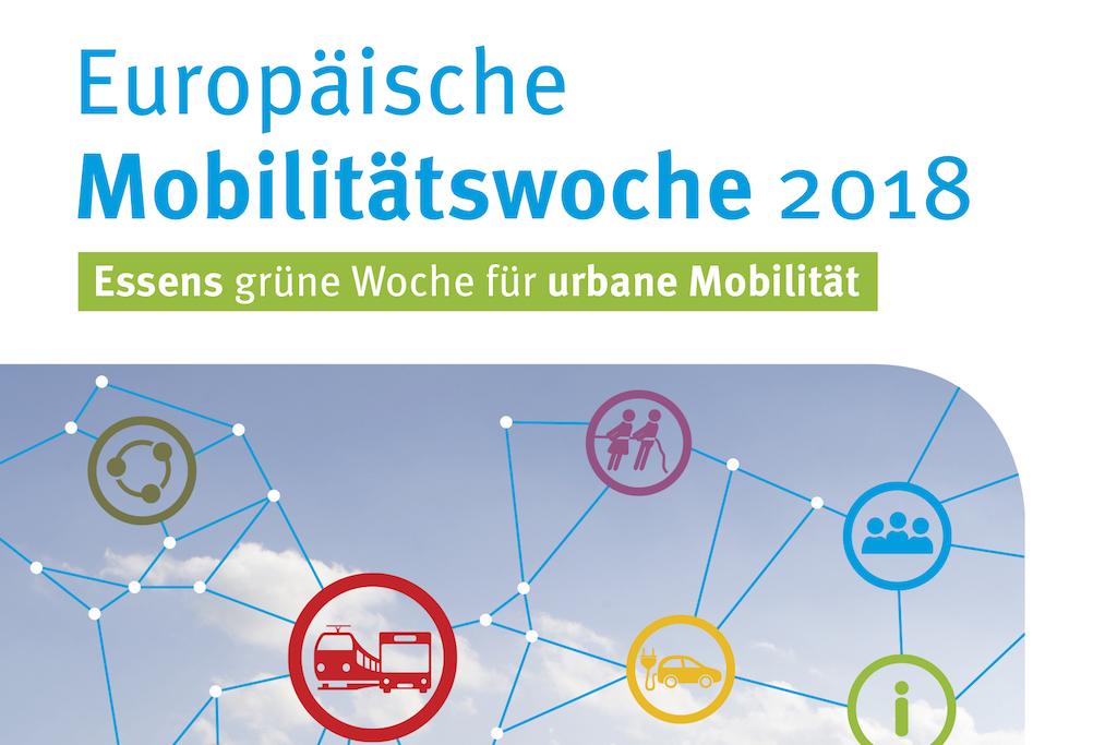 Europäische Mobilitätswoche EMW 2018 Essen Plakat Titel