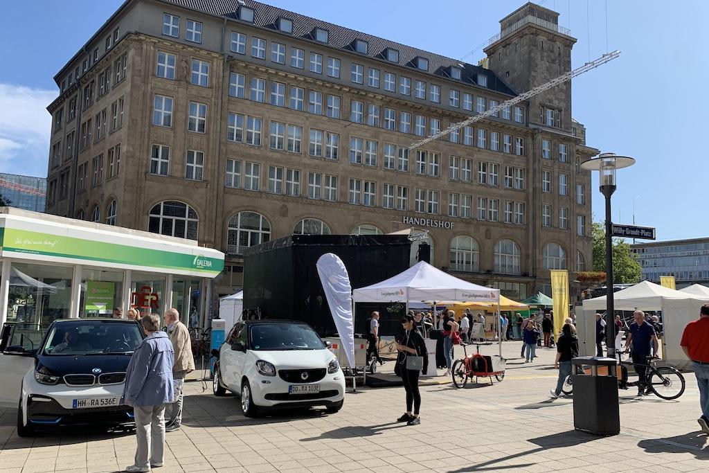 Europäische Mobilitätswoche EMW 2019 Essen Eröffnung Auftaktveranstaltung Elektromobilität City