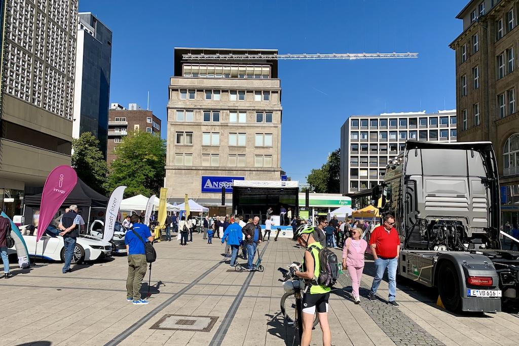Europäische Mobilitätswoche EMW 2019 Essen Eröffnung Auftaktveranstaltung Stadtmitte City