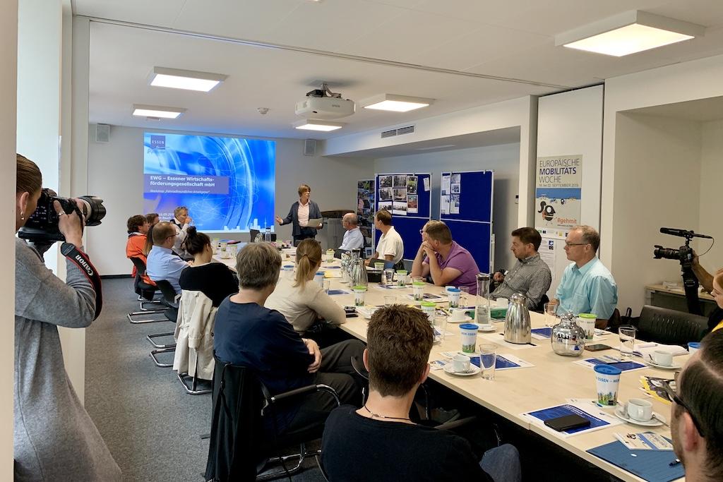 Europäische Mobilitätswoche EMW 2019 Essen ADFC Fahrradfreundliche Arbeitgeber Workshop